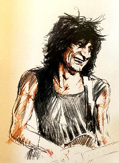 Ronnie (Voodoo) 1997 Limited Edition Print - Ronnie Wood (Rolling Stones)