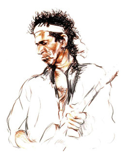 Voodoo (Keith) AP 1996    Limited Edition Print by Ronnie Wood (Rolling Stones)