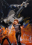 Weaving 2006 Limited Edition Print - Ronnie Wood (Rolling Stones)