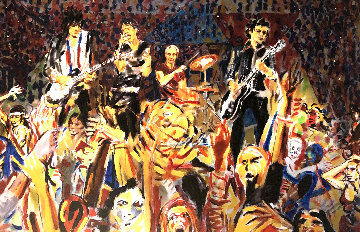 B-Stage 2006 Limited Edition Print - Ronnie Wood (Rolling Stones)