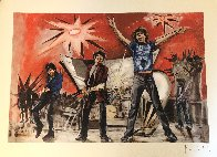 Bigger Bang Red Limited Edition Print by Ronnie Wood (Rolling Stones) - 1