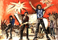 Bigger Bang Red Limited Edition Print by Ronnie Wood (Rolling Stones) - 0
