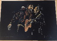 Portrait in Black - Pretty Beat Up 2005 Limited Edition Print by Ronnie Wood (Rolling Stones) - 1