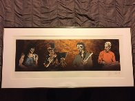 Voodoo 4 (II) 1997 Limited Edition Print by Ronnie Wood (Rolling Stones) - 1