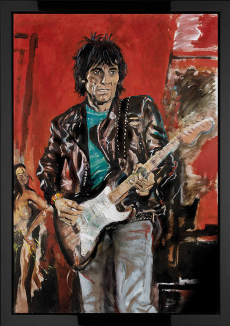 Wa Wa Wood 2007 Limited Edition Print by Ronnie Wood (Rolling Stones)