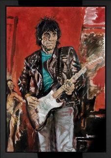 Wa Wa Wood 2007 Limited Edition Print - Ronnie Wood (Rolling Stones)