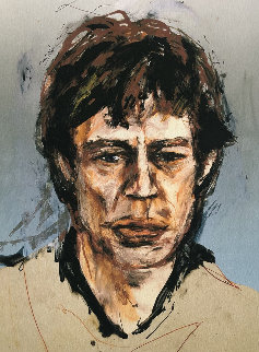 Mick 2005 Limited Edition Print - Ronnie Wood (Rolling Stones)