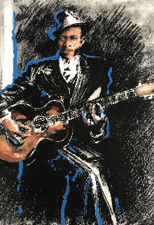Robert Johnson 2000 Limited Edition Print - Ronnie Wood (Rolling Stones)