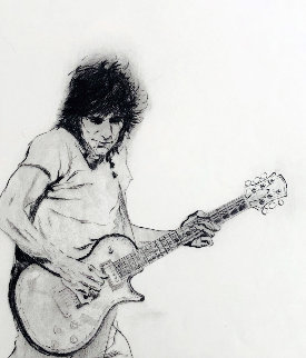 Untitled Screenprint 2004 Limited Edition Print - Ronnie Wood (Rolling Stones)