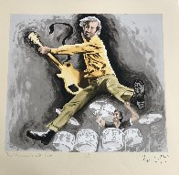 Pete Townsend And Keith Moon 1997 Limited Edition Print by Ronnie Wood (Rolling Stones) - 1
