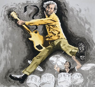 Pete Townsend And Keith Moon 1997 Limited Edition Print by Ronnie Wood (Rolling Stones) - 0