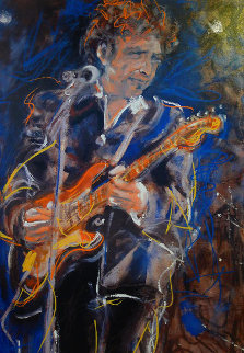 Bob Dylan AP 2002 Limited Edition Print - Ronnie Wood (Rolling Stones)