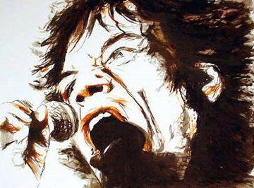 Voodoo Mick 1996 Limited Edition Print - Ronnie Wood (Rolling Stones)