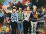 Forty Licks Limited Edition Print - Ronnie Wood (Rolling Stones)