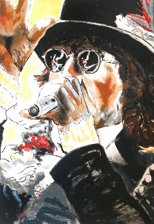 Please Allow Me Limited Edition Print - Ronnie Wood (Rolling Stones)