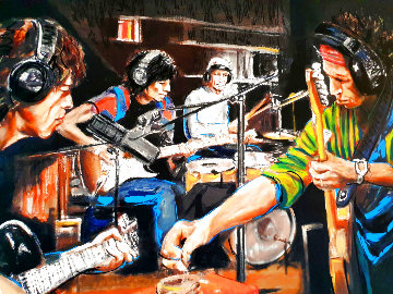 Conversation Piece II 2005 Limited Edition Print - Ronnie Wood (Rolling Stones)