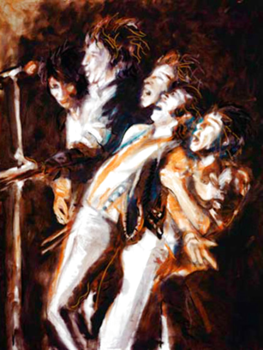 Faces - We'll Meet Again Limited Edition Print by Ronnie Wood (Rolling Stones)
