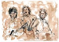 Ronnie, Mick, Keith Limited Edition Print by Ronnie Wood (Rolling Stones) - 0
