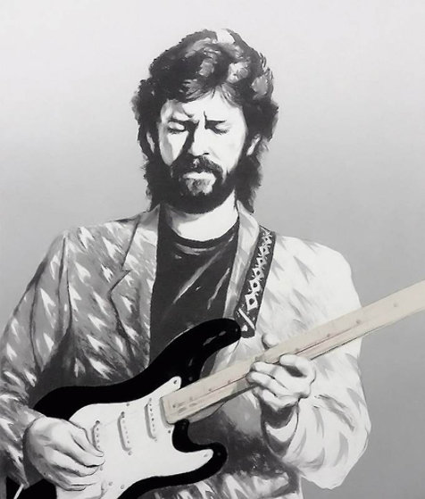 Eric Clapton II Limited Edition Print by Ronnie Wood (Rolling Stones)