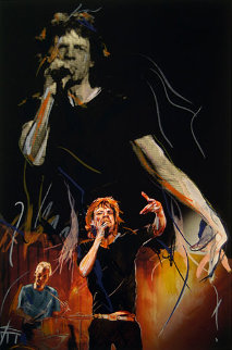 Playing On Hands Limited Edition Print - Ronnie Wood (Rolling Stones)