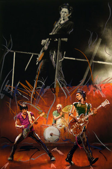 Twang Limited Edition Print by Ronnie Wood (Rolling Stones)
