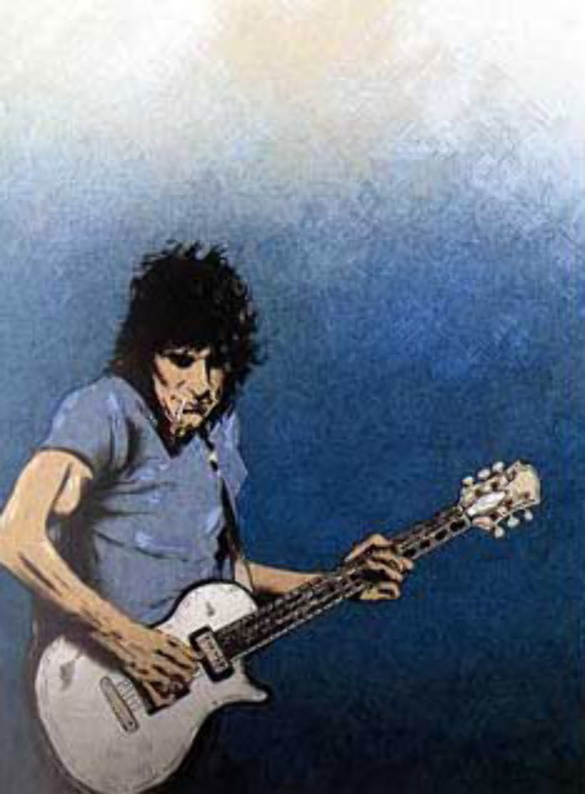 Solo I and Solo II 1992 Limited Edition Print by Ronnie Wood (Rolling Stones)