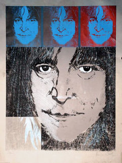 John Lennon (Number 1) 1988 Limited Edition Print by Ronnie Wood (Rolling Stones)