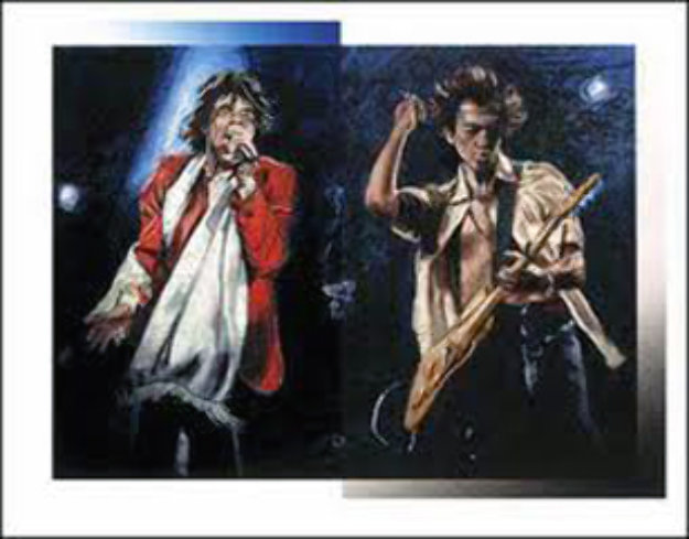 Stray Cat Blues 2002 Limited Edition Print by Ronnie Wood (Rolling Stones)