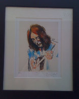 John Lennon Playing the Guitar Limited Edition Print by Ronnie Wood (Rolling Stones) - 1