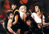Stones in Sepia 1991 Limited Edition Print by Ronnie Wood (Rolling Stones) - 0