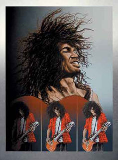 Slash 1994 Limited Edition Print - Ronnie Wood (Rolling Stones)