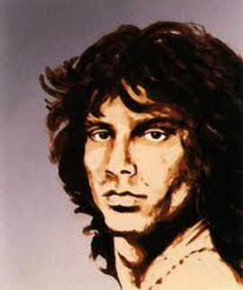Jim Morrison 1991 Limited Edition Print - Ronnie Wood (Rolling Stones)