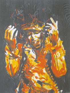 Range Folio, Suite of 4 2005 Limited Edition Print by Ronnie Wood (Rolling Stones)