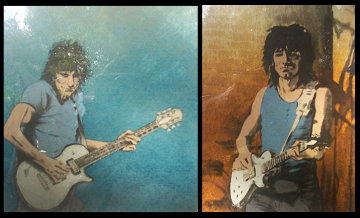 Solo I and II 1992 Limited Edition Print by Ronnie Wood (Rolling Stones)