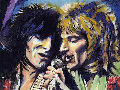 Rod and Ronnie Limited Edition Print - Ronnie Wood (Rolling Stones)