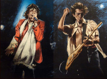 Stray Cat Blues 2000 Limited Edition Print - Ronnie Wood (Rolling Stones)