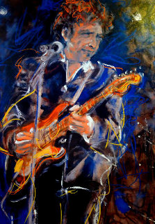 Bob Dylan 2002 Limited Edition Print by Ronnie Wood (Rolling Stones)