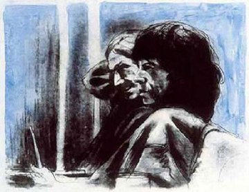Rehearsal in Ireland, Suite of 6 1994 Limited Edition Print - Ronnie Wood (Rolling Stones)