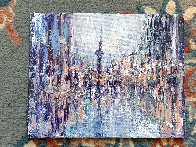 Toronto Impressions 2020 8x10 Original Painting by Linda Woolven - 1