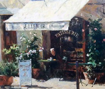 Provence Patisserie Limited Edition Print by Leonard Wren