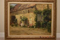 House in Burgundy 1999 Limited Edition Print by Leonard Wren - 1
