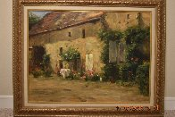House in Burgundy 1999 Limited Edition Print by Leonard Wren - 2
