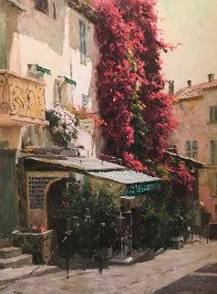 St. Tropez 2002 Embellished Limited Edition Print - Leonard Wren