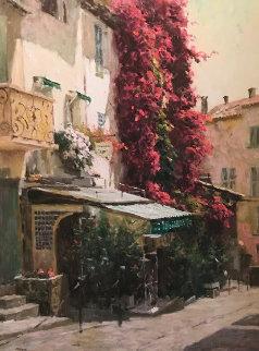St. Tropez 2002 Embellished Limited Edition Print by Leonard Wren