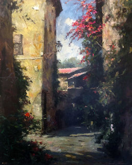 St. Paul De Vence 1999 Limited Edition Print by Leonard Wren