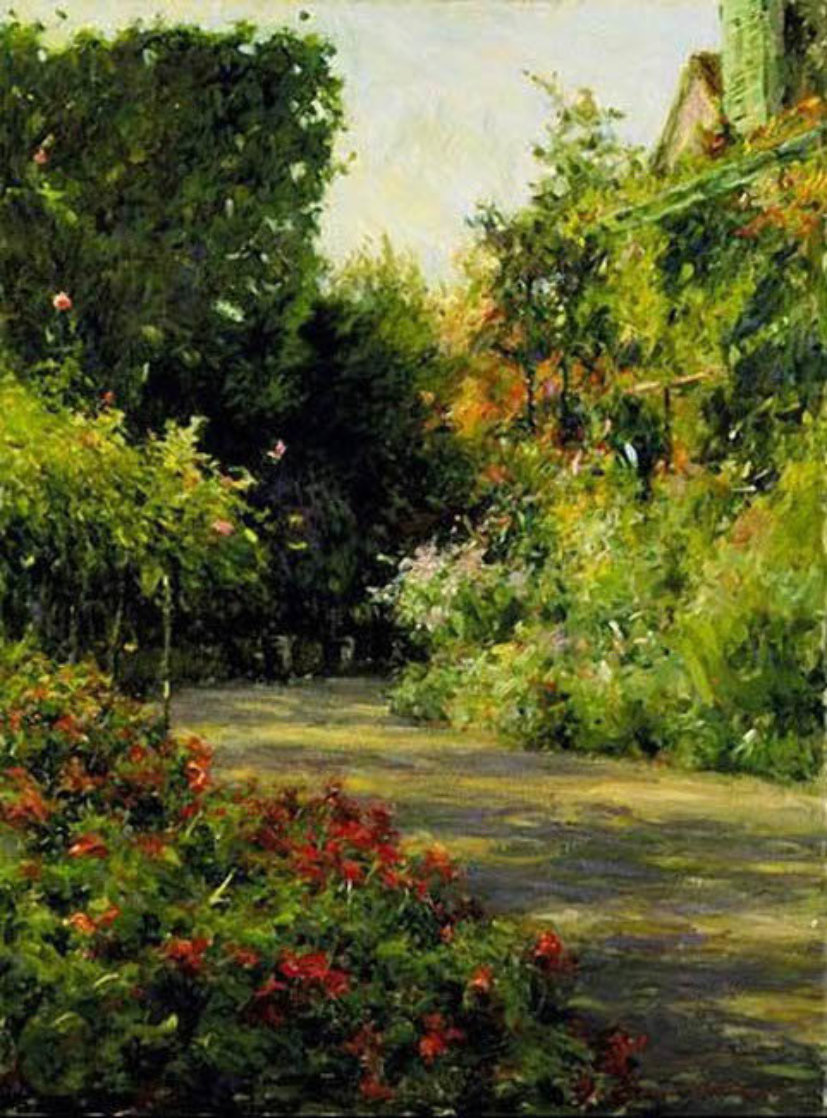 A Garden in Normandy Limited Edition Print by Leonard Wren