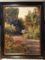 A Garden in Normandy Limited Edition Print by Leonard Wren - 1
