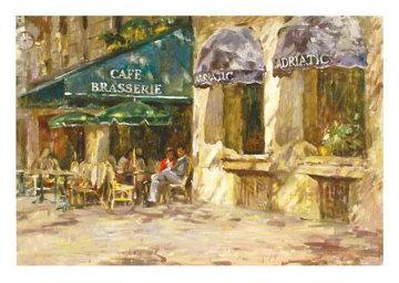 Brasserie 2001 Limited Edition Print - Leonard Wren