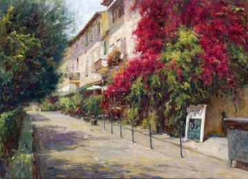 Rue De St Tropez 2001 Limited Edition Print - Leonard Wren