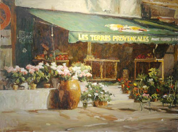 Fleur Du Provence Limited Edition Print - Leonard Wren